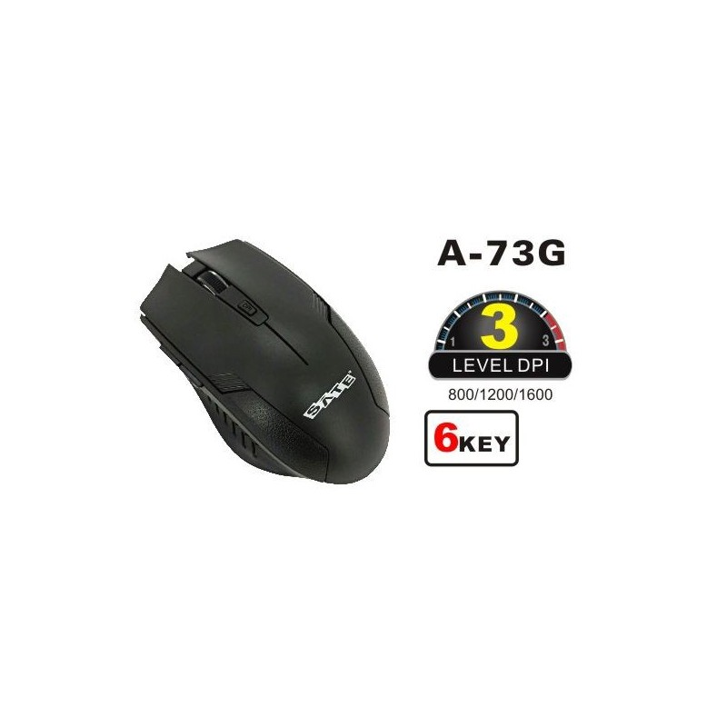 MOUSE  SATE A72G INALAMBRICO 2.4G