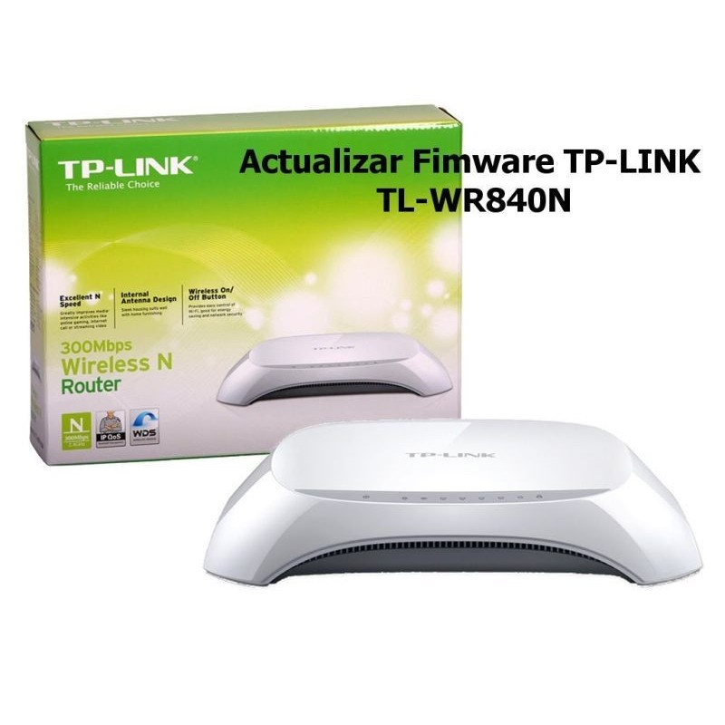ROUTER TP-LINK WIRELESS 300MPBS TL-WR840N